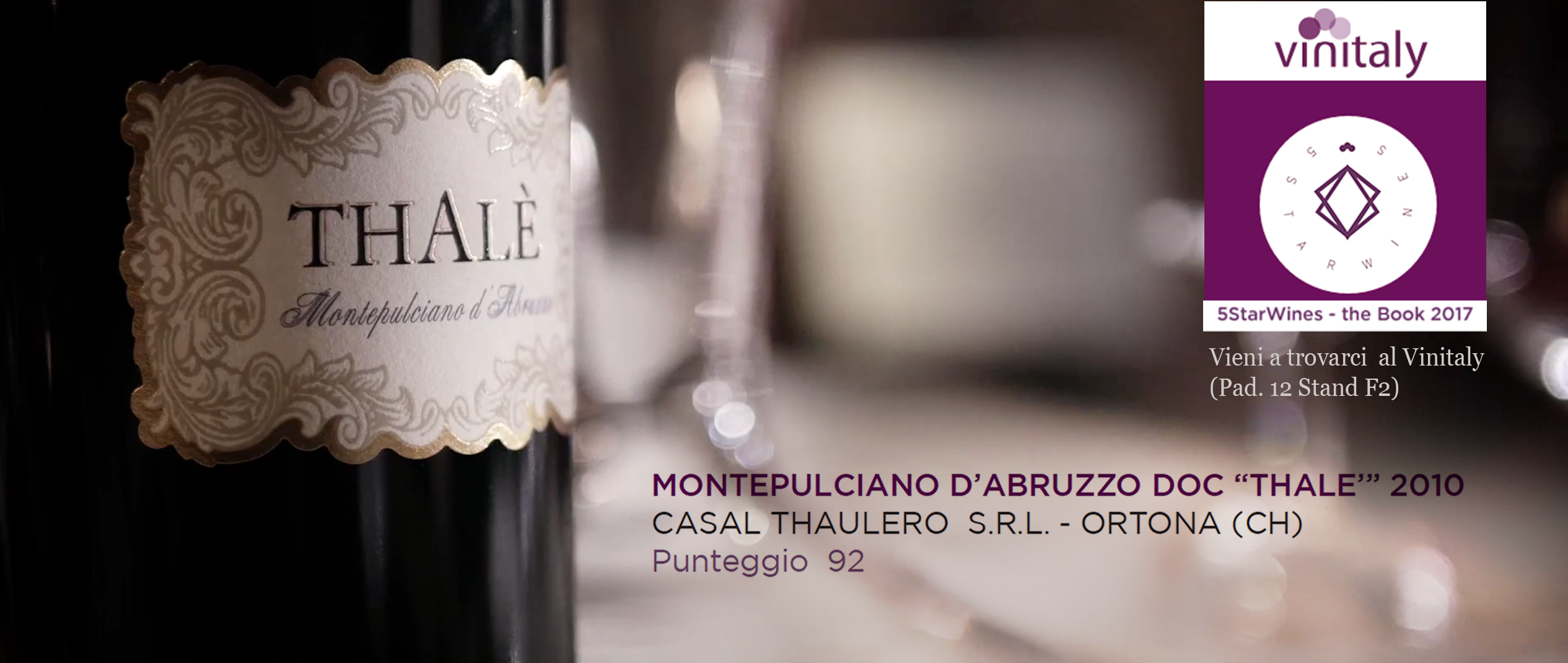 vinitaly 2017 5Stars Wines thalè Montepulciano